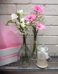 Coconut Ice - Candle & Vase Set
